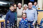The McGrath family from Listowel enjoying evening on the Greyhound Track on Friday night.<br /> L-r, Ciara, Peter, Tara, Peter Sr, Mary and Simon McGrath.