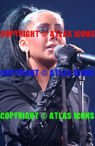 CHRISTINA AGUILERA, Live, In New York City, 2003.Photo Credit: Eddie Malluk/Atlas Icons.com
