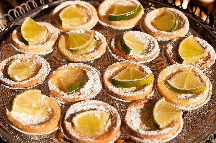 Lemon Tarts - Lemon crème brûlée tarts