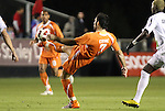30 October 2010: Carolina's Etienne Barbara. The Puerto Rico Islanders won the 2010 USSF-D2 championship 3-1 on aggregate goals after playing the Carolina RailHawks to a 1-1 tie in the second leg of the Finals in a game played at WakeMed Stadium in Cary, North Carolina.