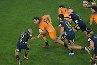 Agustin Creevy in action during the Super Rugby match between the Highlanders and Jaguares at Forsyth Barr Stadium in Dunedin, New Zealand on Saturday, 11 May 2019. Photo: Dave Lintott / lintottphoto.co.nz