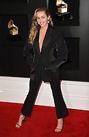 LOS ANGELES, CA - FEBRUARY 10: Miley Cyrus at the 61st Annual Grammy Awards at the Staples Center in Los Angeles, California on February 10, 2019. <br /> CAP/MPIFS<br /> &copy;MPIFS/Capital Pictures