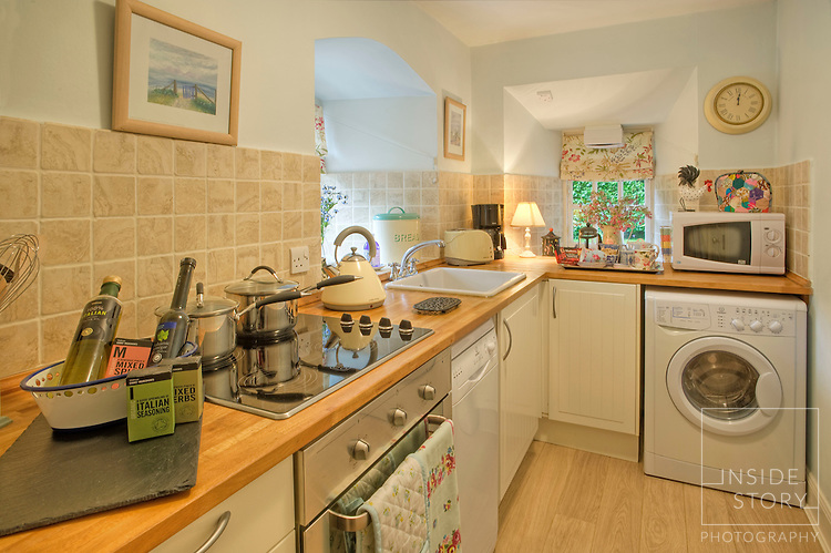 Kitchen, Pilrig House Apartments