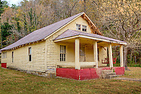 Old farmhouse in the Boxley Valley Historic District near the Buffalo National River.