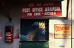 Post Office at Arambol in Goa in India.