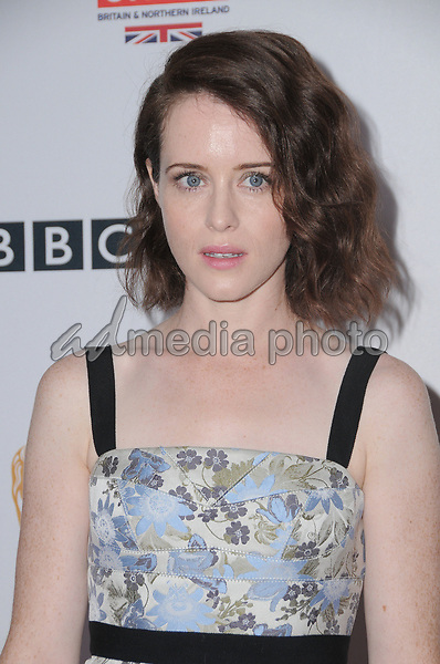15 September  2017 - Beverly Hills, California - Claire Foy. 2017 BAFTA Los Angeles BBC America TV Tea Party  held at The Beverly Hilton Hotel in Beverly Hills. Photo Credit: Birdie Thompson/AdMedia