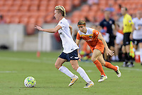 Houston, TX - Thursday Aug. 18, 2016: Joanna Lohman during a regular season National Women's Soccer League (NWSL) match between the Houston Dash and the Washington Spirit at BBVA Compass Stadium.