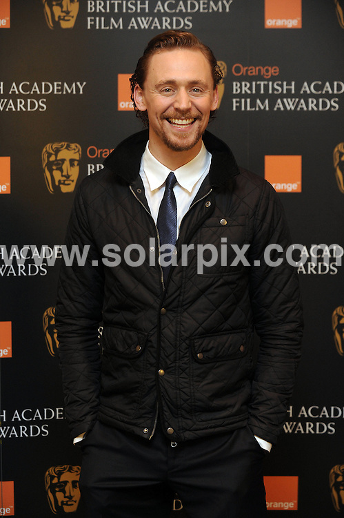 **ALL ROUND PICTURES FROM SOLARPIX.COM**                                             **WORLDWIDE SYNDICATION RIGHTS**                                                                                  Caption:Tom Huddleston attends a photocall to announce the nominees for the annual Orange Rising Star Award at Bafta HQ on Wednesday January  in London.                                                                               This pic: Tom Huddleston                                                                                             JOB REF: 14348       LNJ       DATE:11.01.2012                                                            **MUST CREDIT SOLARPIX.COM OR DOUBLE FEE WILL BE CHARGED**                                                                      **MUST AGREE FEE BEFORE ONLINE USAGE**                               **CALL US ON: +34 952 811 768 or LOW RATE FROM UK 0844 617 7637**