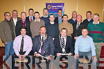 ..APEAL: Members of the Lions Club Tralee with the Mayor of Kerry launched tohe 2008 Christmas food appeal in The Meadowlands Hotel, on Tuesday evening. Front l-r: Brian Hanafin, Paul Salsbury (president Tralee Lions Club), Ted Fitzgerald (mayor of Kerry) and Eoin O'Neill. Back l-r: John Naughton, Brian King, Teddy Reynolds, Pat Crean, Brendan Kenny, Brendan Fitzgerald, Paul O'Connor, Eoin Porter, Martin Ryan, Mark Bennett, Declan O'Sullivan, Mark Boyle and Robert Groves..........   Copyright Kerry's Eye 2008