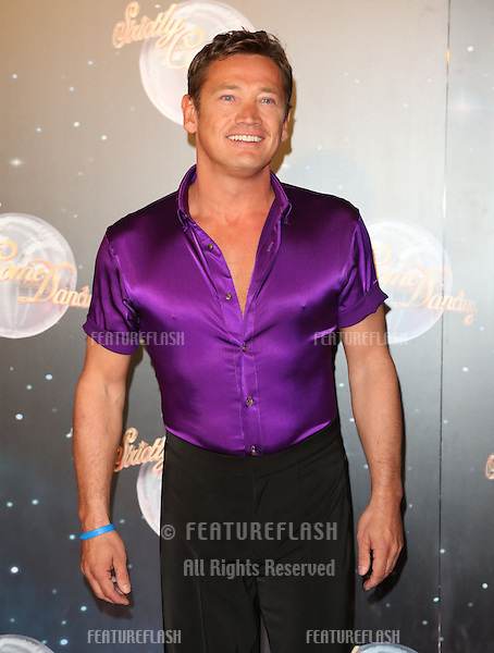 Sid Owen arriving for the Strictly Come Dancing 2012 Launch, Television Centre, London. 11/09/2012 Picture by: Henry Harris / Featureflash.
