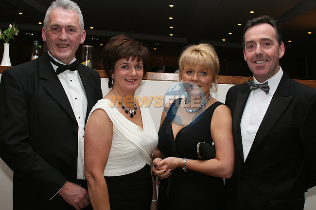 Gerry and Catriona Leydon with Katrena and Bill Jackson from Beverage Business Solutions at the Drogheda Chamber of Commerce Business Excellence Awards in the City North Hotel...Photo NEWSFILE/Jenny Matthews.(Photo credit should read Jenny Matthews/NEWSFILE)....This Picture has been sent you under the condtions enclosed by:.Newsfile Ltd..The Studio,.Millmount Abbey,.Drogheda,.Co Meath..Ireland..Tel: +353(0)41-9871240.Fax: +353(0)41-9871260.GSM: +353(0)86-2500958.email: pictures@newsfile.ie.www.newsfile.ie.FTP: 193.120.102.198.