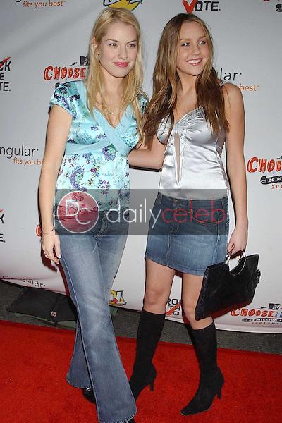 Leslie Grossman and Amanda Bynes