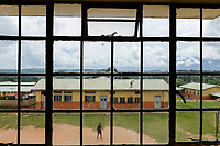UGANDA, Kampala, Kampiringisa, national rehabilitation center, a juvenile-detention facility for children and young people / Jugendhaftanstalt und Rehabilitationszentrum Kampiringisa