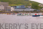 And their off: some of the 10 cerews who took part in the U14 Ladies 4 oar at the Cahersiveen Regatta on Sunday.