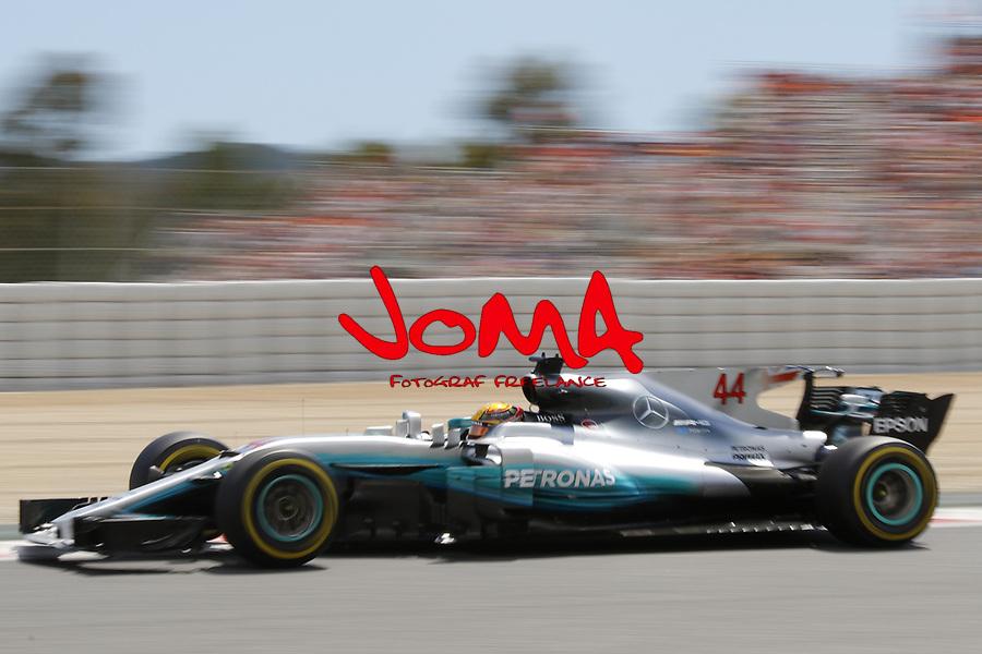 Lewis Hamilton (GBR) Mercedes-Benz at  Formula 1, Spanish Grand Prix, Barcelona.