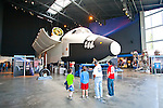 Seattle, Museum of Flight, Space Shuttle mockup, Charles Simonyi Space Gallery, Full Fuselage Trainer, (FFT), shuttle mockup,