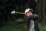 Pennapa Pulsawath of Thailand in action during the Hyundai China Ladies Open 2014 on December 12 2014 at Mission Hills Shenzhen, in Shenzhen, China. Photo by Li Man Yuen / Power Sport Images