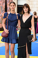 Charlotte Wiggins and Sam Rollison<br /> arriving for the Royal Academy of Arts Summer Exhibition 2018 opening party, London<br /> <br /> ©Ash Knotek  D3406  06/06/2018