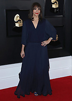 LOS ANGELES - FEBRUARY 10:  Rashida Jones at the 61st Grammy Awards at Staples Center on February 10, 2019 in Los Angeles, California. (Photo by Xavier Collin/PictureGroup)