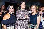 Theresa Walker, Fiona O'Connor and Sheila O'Rahilly attending the Ballmac GAA Fundraiser at the Rose Hotel on Sunday.