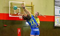 Deborah Berghe (SG W/B/W) scheitert gegen Lucie Marie Kretschmar (Leipzig) - 10.03.2019: SG Weiterstadt/Braunshardt/Worfelden vs. HC Leipzig, Sporthalle Braunshardt