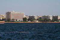 The waterfront. Macedonia Palace hotel. Thessaloniki, Macedonia, Greece