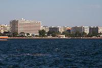 The waterfront. Macedonia Palace hotel. Thessaloniki, Macedonia, Greece