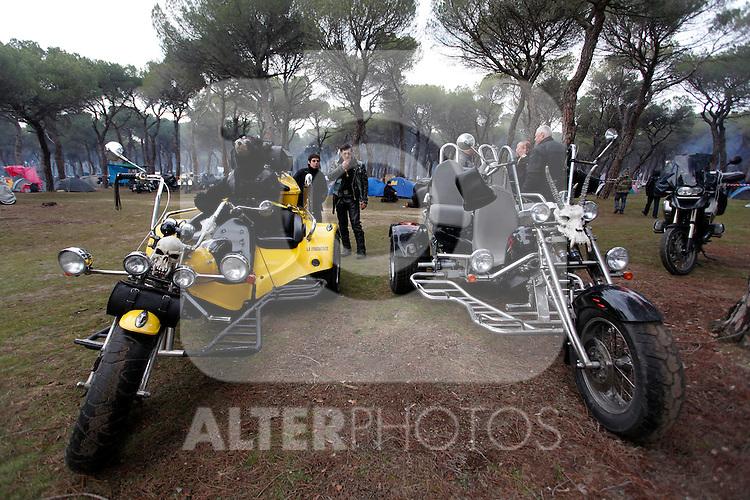 Pinguinos 2013, international motorbike meeting in Puente Duero, Valladolid. January, 12 2013. (ALTERPHOTOS/Victor Blanco)