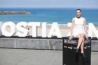 Actress Sofia Brito poses during `Eva no duerme´ film presentation at 63rd Donostia Zinemaldia (San Sebastian International Film Festival) in San Sebastian, Spain. September XX, 2015. (ALTERPHOTOS/Victor Blanco) /NortePhoto.com
