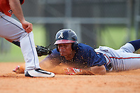 Atlanta Braves Randy Ventura (99) during an Instructional League game against the Houston Astros on September 26, 2016 at Osceola County Stadium Complex in Kissimmee, Florida.  (Mike Janes/Four Seam Images)