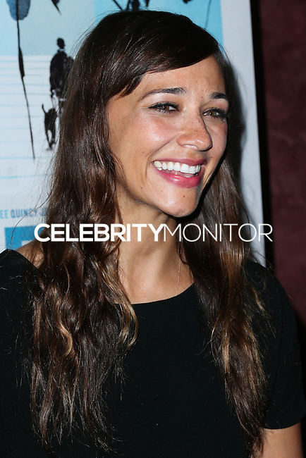 LOS ANGELES, CA, USA - SEPTEMBER 17: Rashida Jones arrives at the Los Angeles Premiere Of RADiUS-TWC's 'Keep On Keepin' On' held at the Landmark Theatre on September 17, 2014 in Los Angeles, California, United States. (Photo by Xavier Collin/Celebrity Monitor)