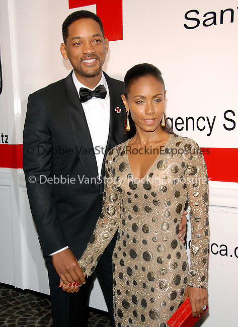 Jada Pinkett-Smith & Will Smith at the Annual Red Tie Affair.Honoring Jada Pinkett Smith and the cast of HawthoRNe hosted by The American Red Cross: Santa Monica Chapter held at Fairmont Miramar Hotel in Santa Monica, California on April 17,2010                                                                   Copyright 2010  DVS / RockinExposures