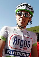 Koen De Kort during the stage of La Vuelta 2012 between Barakaldo and Valdezcaray.August 21,2012. (ALTERPHOTOS/Acero) /NortePhoto.com