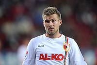 FUSSBALL   1. BUNDESLIGA  SAISON 2012/2013   5. Spieltag FC Augsburg - Bayer 04 Leverkusen           26.09.2012 Daniel Baier (FC Augsburg)