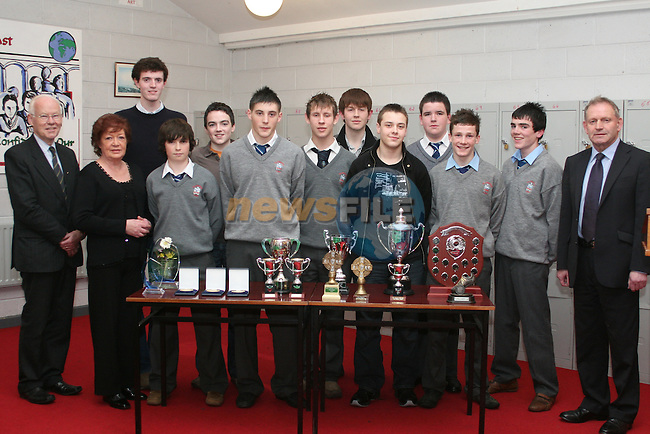 Student Awards in St.Josephs CBS...Photo NEWSFILE/Jenny Matthews.(Photo credit should read Jenny Matthews/NEWSFILE)....This Picture has been sent you under the condtions enclosed by:.Newsfile Ltd..The Studio,.Millmount Abbey,.Drogheda,.Co Meath..Ireland..Tel: +353(0)41-9871240.Fax: +353(0)41-9871260.GSM: +353(0)86-2500958.email: pictures@newsfile.ie.www.newsfile.ie.FTP: 193.120.102.198.