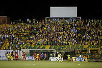 FLORIDABLANCA - COLOMBIA -27-05-2017: Atlético Bucaramanga y América de Cali en partido por la fecha 20 de la Liga Águila I 2017 jugado en el estadio Álvaro Gómez Hurtado de la ciudad de Floridablanca. / Atletico Bucaramanga and América de Cali in match for the date 20 of the Aguila League I 2017 played at Alvaro Gomez Hurtado stadium in Floridablanca city. Photo: VizzorImage / Óscar Martínez / Cont