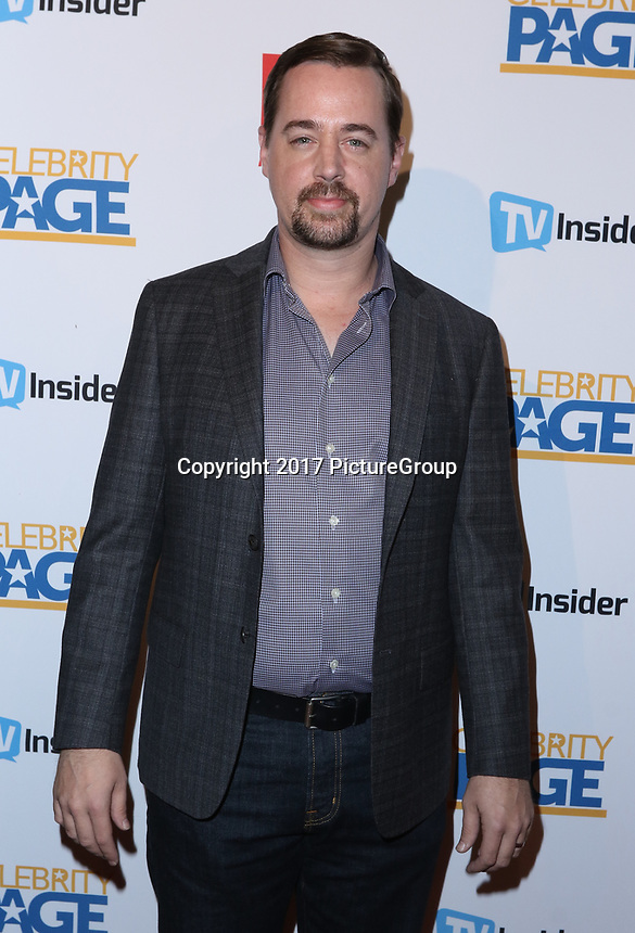 """STUDIO CITY, CA - NOVEMBER 6: Sean Murray attends the TV Guide Magazine Cover Party for Mark Harmon and 15 seasons of the CBS show """"NCIS"""" at River Rock at Sportsmen's Lodge on November 6, 2017 in Studio City, California. (Photo by JC Olivera/PictureGroup)"""