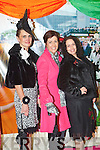 Pictured at Listowel Races, Ladies Day on Friday from left: June Whelan (Lisselton), Orla Walsh (Lisselton), Ciara Kearney (Castleisland).