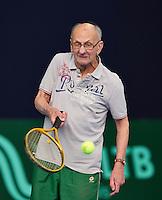 Hilversum, The Netherlands, March 12, 2016,  Tulip Tennis Center, NOVK, Arno de Visser (NED)<br /> Photo: Tennisimages/Henk Koster