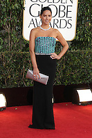 BEVERLY HILLS, CA - JANUARY 13: Olivia Munn at the 70th Annual Golden Globe Awards at the Beverly Hills Hilton Hotel in Beverly Hills, California. January 13, 2013. Credit: mpi29/MediaPunch Inc. /NortePhoto