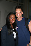"One Life To Live's Tika Sumpter ""Layla Williamson"" and David Fumero ""Cristian Vega"" leaving One Life To Live Studio, New York City, New York on April 15, 2010. (Photos by Sue Coflin/Max Photos)"