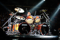 Mettalica performing at Scottrade Center in Saint Louis on Nov 17, 2008.