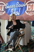 Kimberly Caldwell, Ex-Finalistin bei American Idol<br /> Super Bowl XLIV Media Day, Sun Life Stadium *** Local Caption *** Foto ist honorarpflichtig! zzgl. gesetzl. MwSt. Auf Anfrage in hoeherer Qualitaet/Aufloesung. Belegexemplar an: Marc Schueler, Alte Weinstrasse 1, 61352 Bad Homburg, Tel. +49 (0) 151 11 65 49 88, www.gameday-mediaservices.de. Email: marc.schueler@gameday-mediaservices.de, Bankverbindung: Volksbank Bergstrasse, Kto.: 52137306, BLZ: 50890000