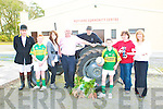 Moyvane Village Harvest Festival: Noel Stack, Brendan Stack, Aisling Flaherty, Queen of the Boro, Sheanus  Roche, Bobby Stack, Gavin Kennelly, Marie Nolan and Brenda Kennelly