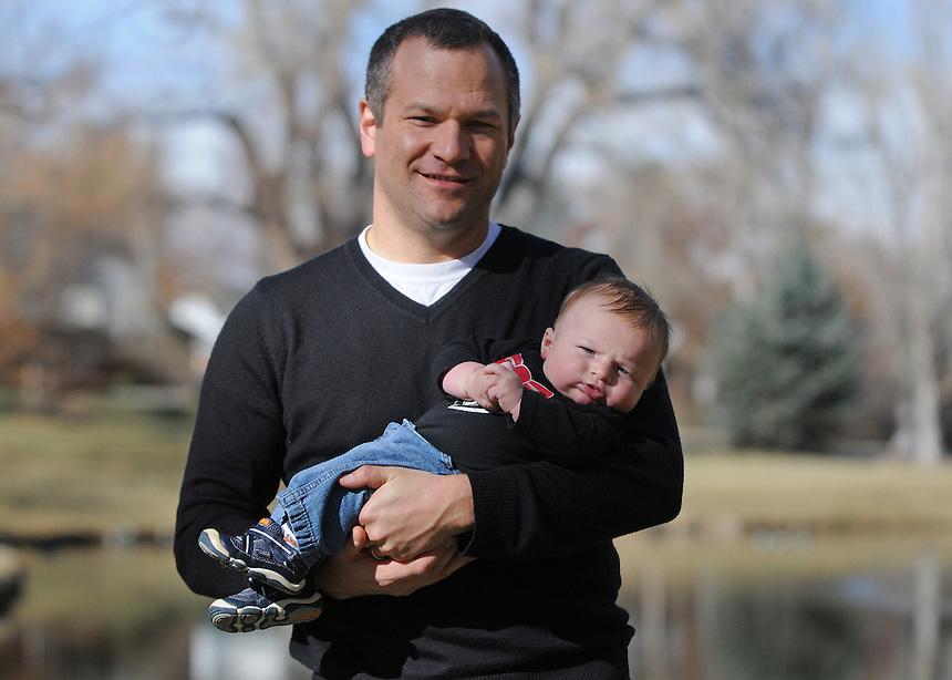 19 November 2011 - Max, Lucy, Ben, Amanda, and Nate Adams in Littleton, Colorado