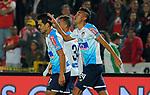 Independiente Santa Fe igualó 2-2 ante Junior. Fecha 14 Liga Águila II-2018.