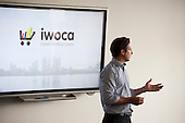 Christoph Rieche, iwoca, Startup Pitch Stage.  Wired Money fintech event, Level39, Canary Wharf.