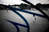 Kharkov 28.08.2010 Ukraine<br /> Kharkov prepares for the UEFA European Football Championships EURO 2012. Many problems affecting the city, lack of maintenance, lack of hotel accommodation and also problems with electricity. Stadium Metalist Kharkiv - One of the main four of Ukrainian stadiums of Euro 2012 is not modernized. Playmaker club matches at the stadium is Metalist Kharkiv.<br /> Photo: Adam Lach / Napo Images<br /> <br /> Charkow przygotowuje sie do Mistrzostw Europy w Pilce noznej Euro 2012. Wiele problemow dotyka miasto, brak remontow, brak bazy hotelowej a ponadto problemy z elektrycznoscia.  Stadion Metalist w Charkowie - Jeden z czterech podstawowych Ukrainskich stadionow zwiazanych z Euro 2012 nie jest modernizowany. Klubem rozgrywajacym mecze na tym stadionie jest Metalist Charkow.<br /> Fot: Adam Lach / Napo Images