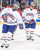 Bobby McCabe (Rene Gauthier) - The University of Massachusetts-Lowell River Hawks defeated the Boston College Eagles 6-3 on Saturday, February 25, 2006, at the Paul E. Tsongas Arena in Lowell, MA.