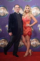 Rev. Richard Coles and Gemma Atkinson<br /> at the launch of the new series of &quot;Strictly Come Dancing, New Broadcasting House, London. <br /> <br /> <br /> &copy;Ash Knotek  D3298  28/08/2017